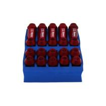 Verseny Kerékanya szett D1Spec 12x1.25 piros